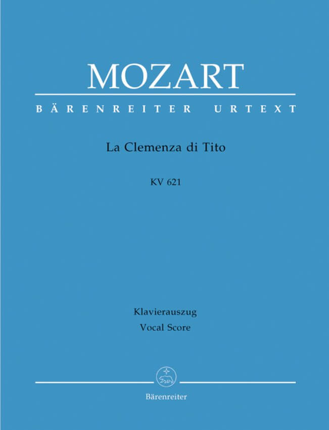 La Clemenza di Tito - Vocal Score (Italian / German)