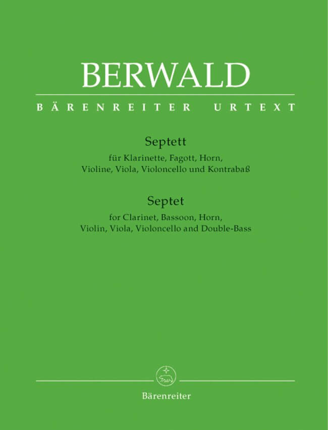 Septet - Clarinet, Bassoon, Horn, Viola, Cello and String Bass