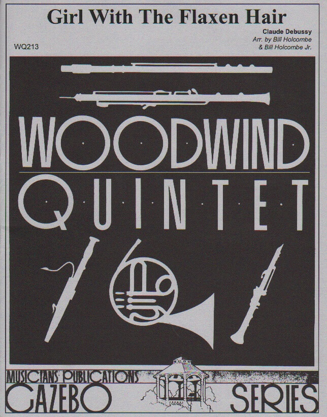 Girl with the Flaxen Hair - Woodwind Quintet