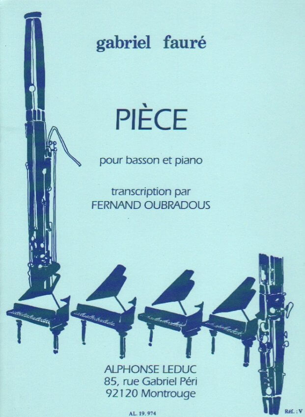 Piece - Bassoon and Piano