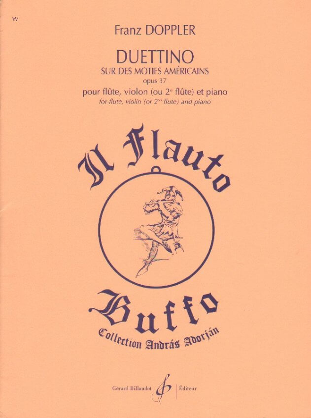 Duettino Americain - Flute, Violin (or 2nd Flute) and Piano