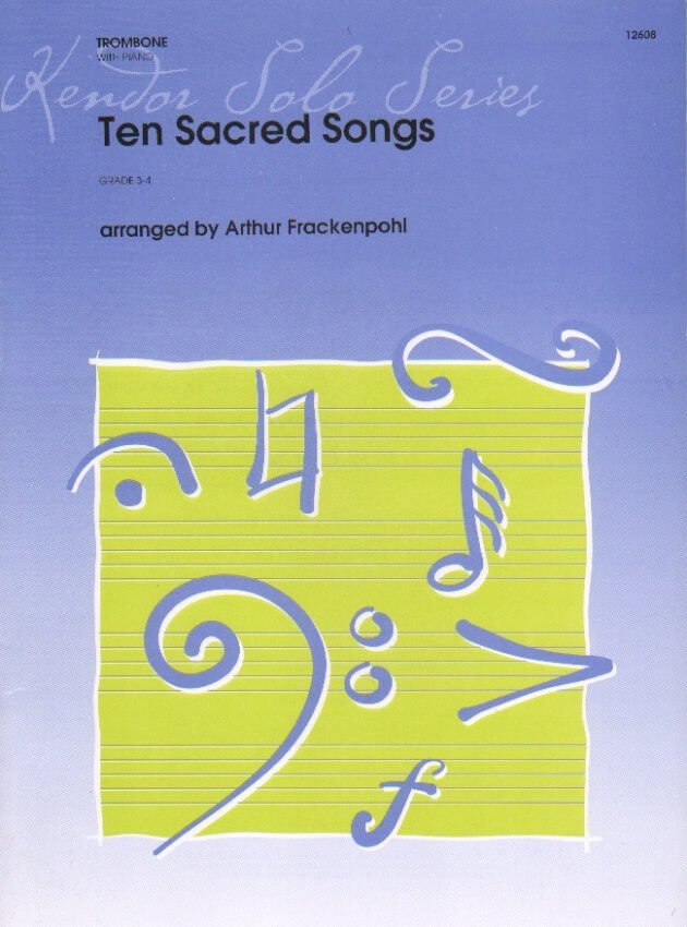 10 Sacred Songs - Trombone and Piano