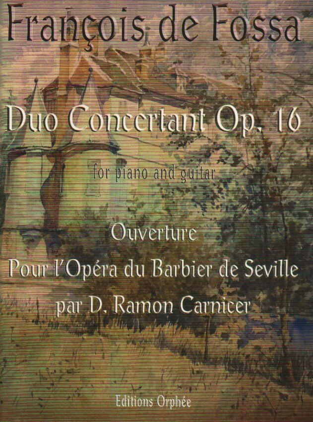 Duo Concertant, Op.16 - Guitar and Piano