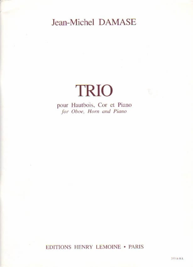 Trio - Oboe, Horn and Piano