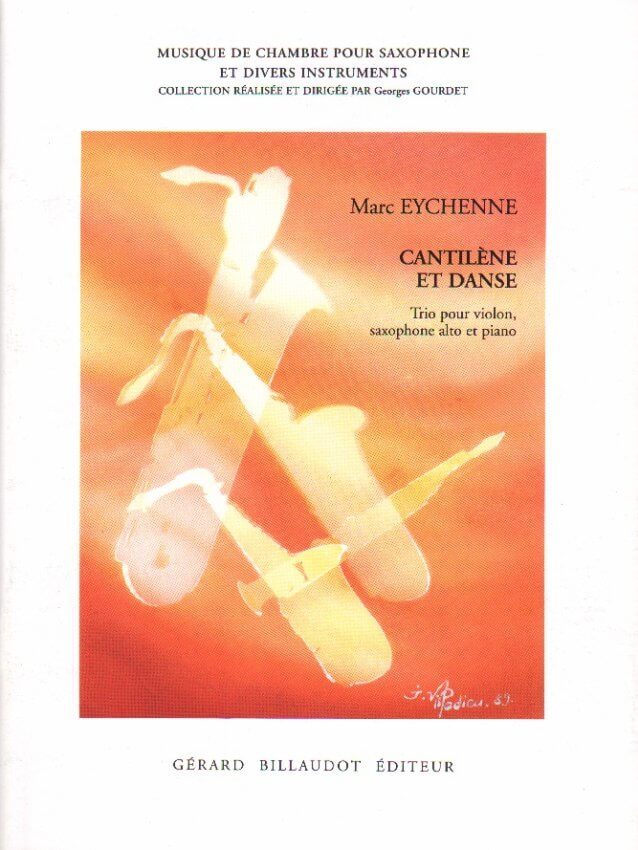 Cantilene and Dance - Violin, Alto Saxophone and Piano