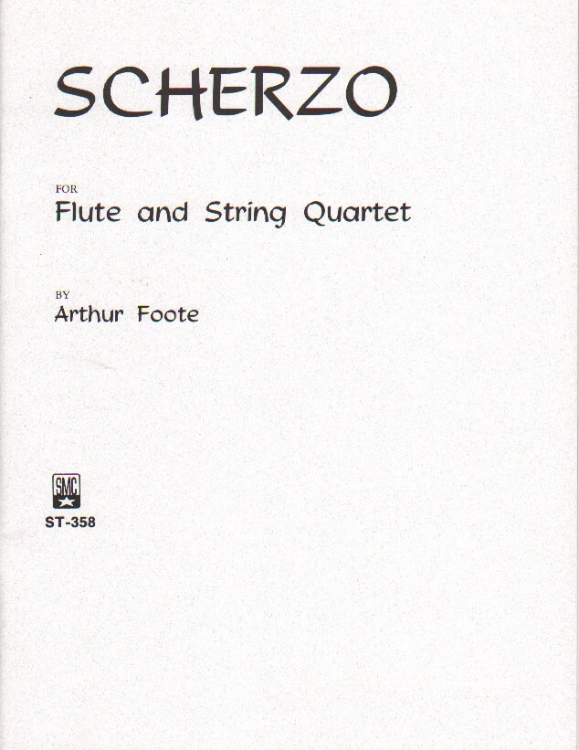Scherzo - Flute and String Quartet