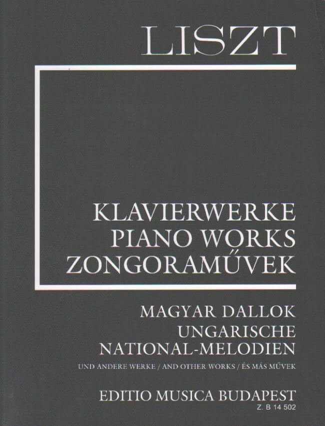 Ungarische National Melodien (Liszt Piano Works)