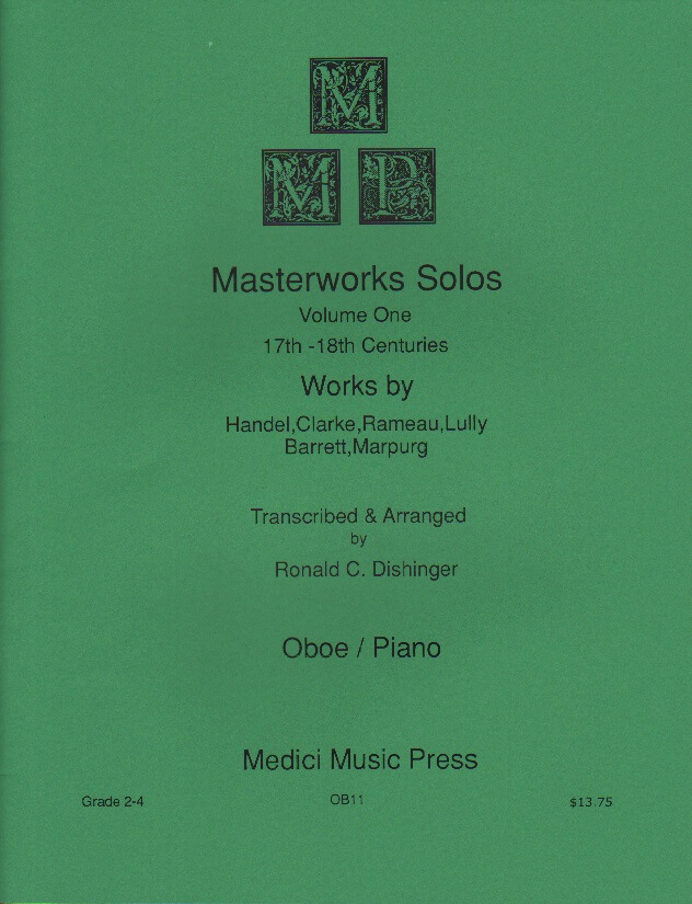 Medici Masterworks Solos: 17th and 18th Centuries - Oboe and Piano