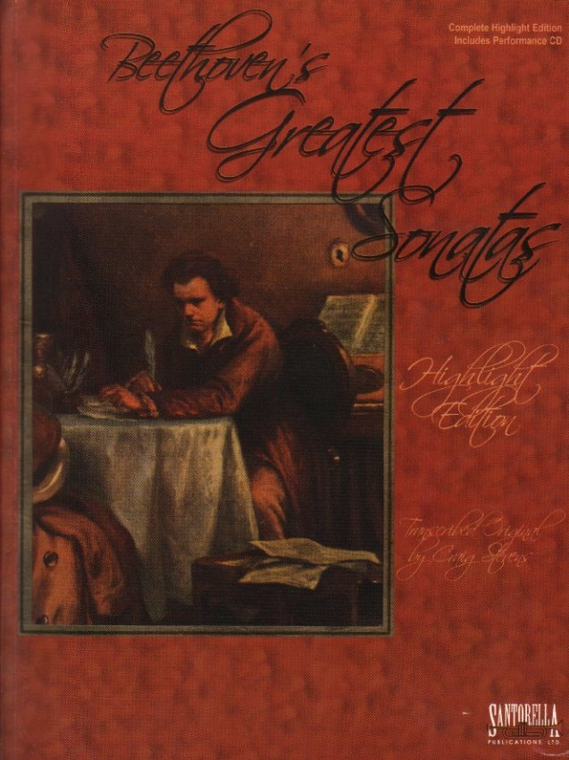 Beethoven's Greatest Sonatas - Piano (Book with CD)