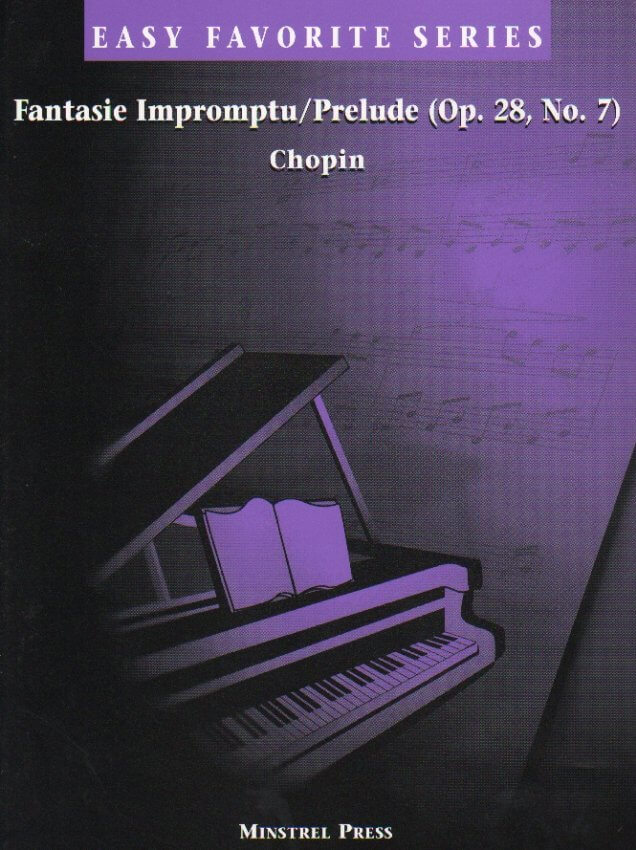 Fantasie Impromptu/Prelude (Op. 28 No. 7) - Easy Piano