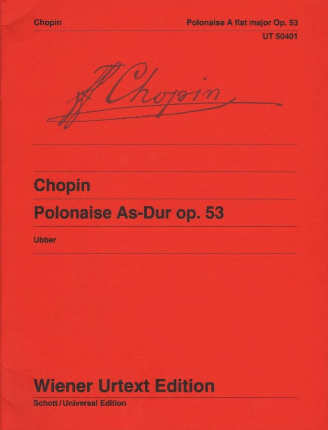 Polonaise in A-flat Major, Op. 53 - Piano