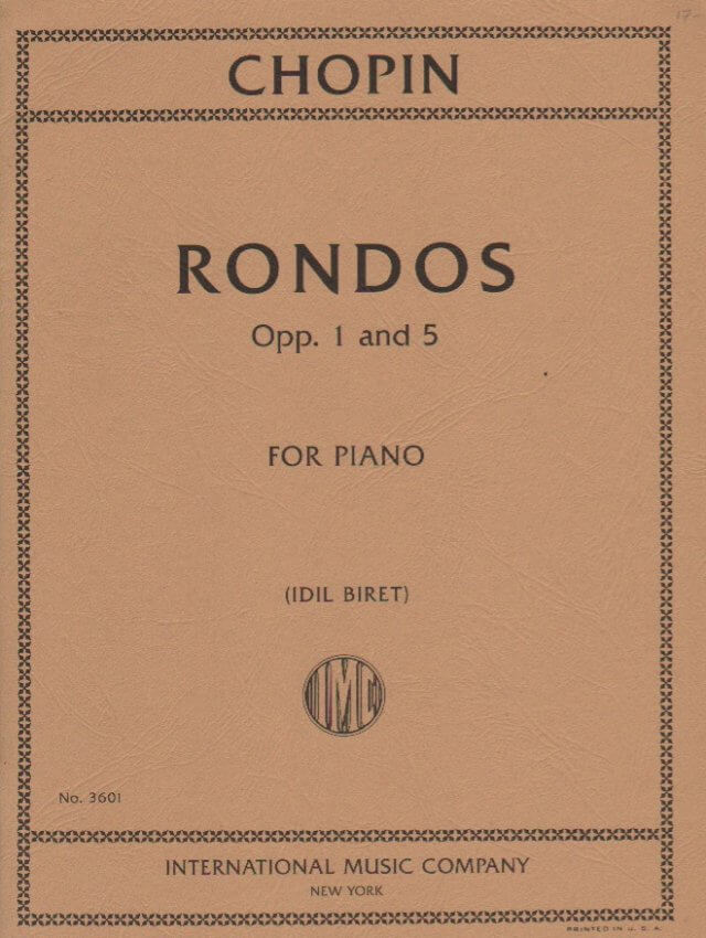 Rondos Opp. 1 and 5 - Piano