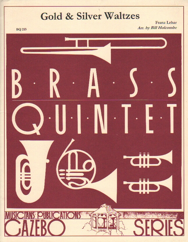 Gold and Silver Waltzes - Brass Quintet