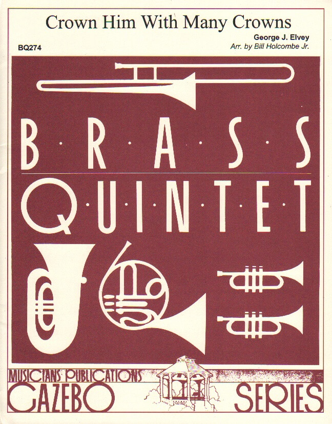 Crown Him With Many Crowns - Brass Quintet