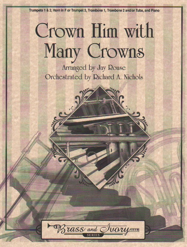Crown Him with Many Crowns - Brass Quintet and Piano