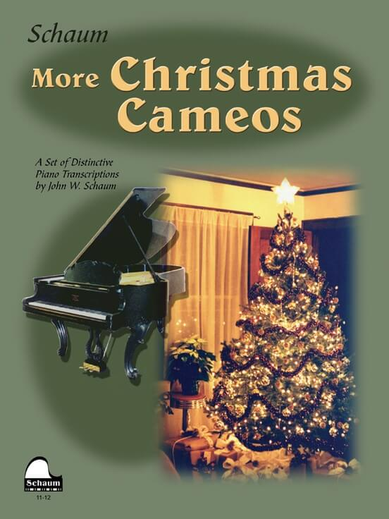 More Christmas Cameos, Level 6  (advanced piano)