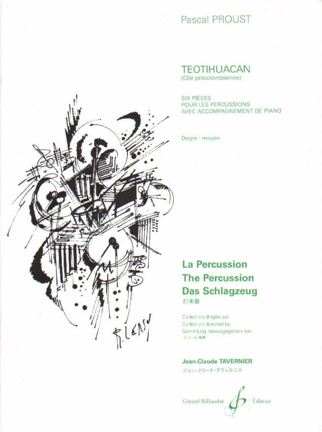 Teotihuacan - Multi-Percussion and Piano