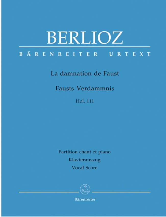 La damnation de Faust, Hol. 111 - Vocal Score (German / French)