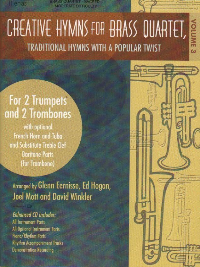Creative Hymns for Brass Quartet, Vol. 3 (Bk/CD)