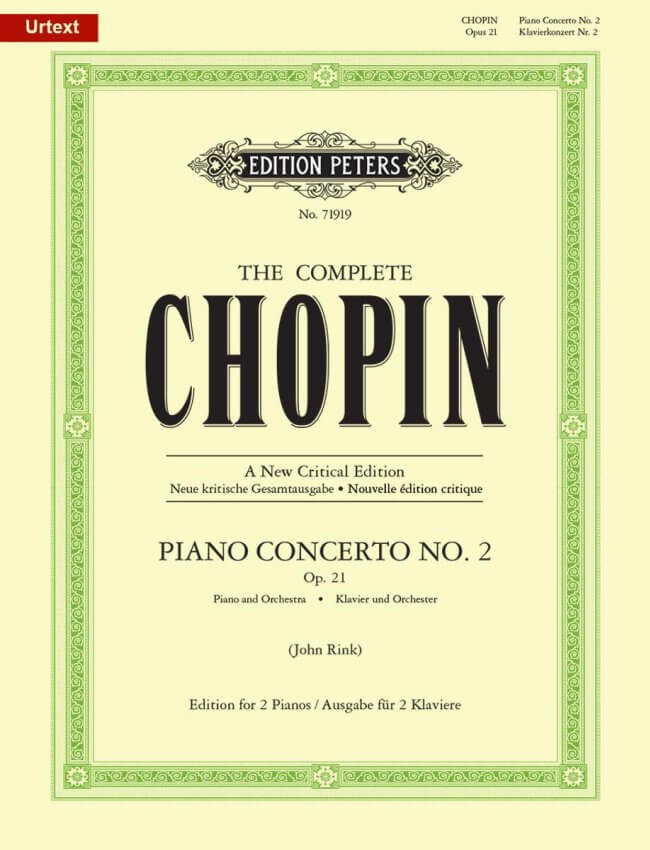 Concerto No. 2 in F Minor, Op. 21 - Piano