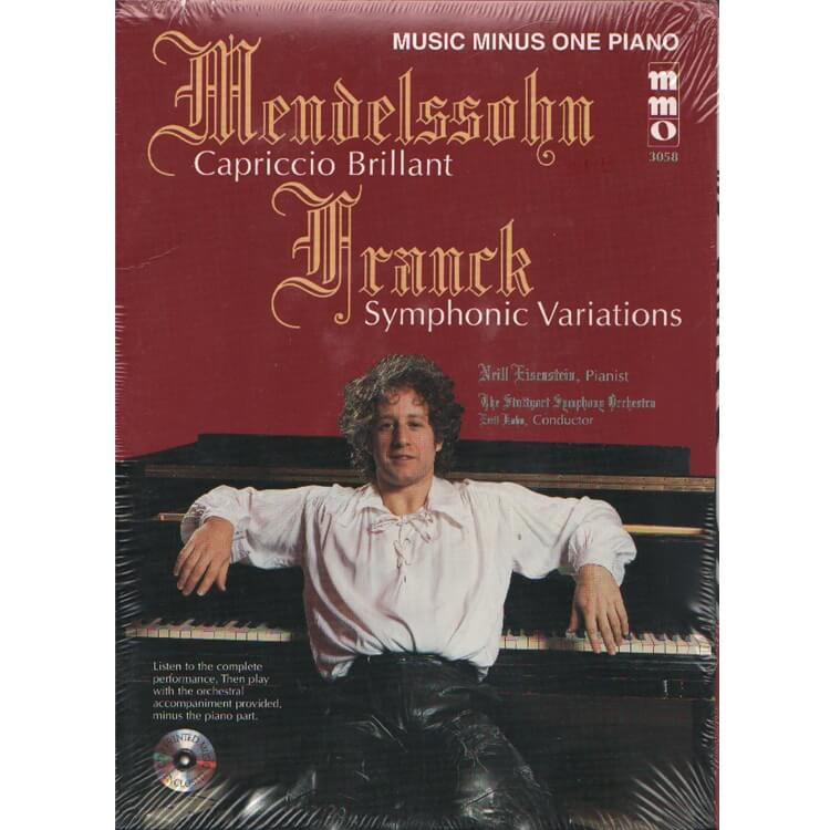 Capriccio Brillant & Symphonic Variation (Book/CD)  - Piano