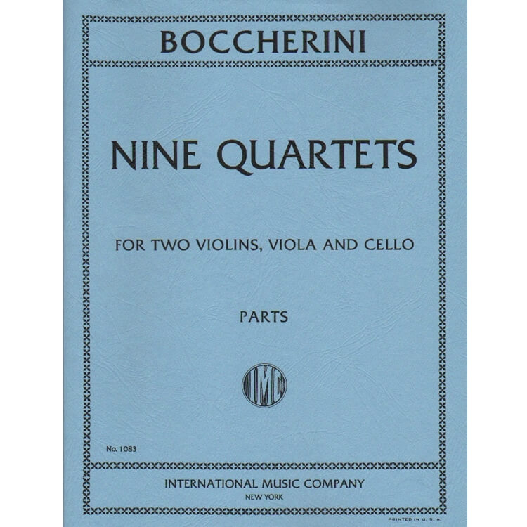 9 Quartets - String Quartet (Parts)