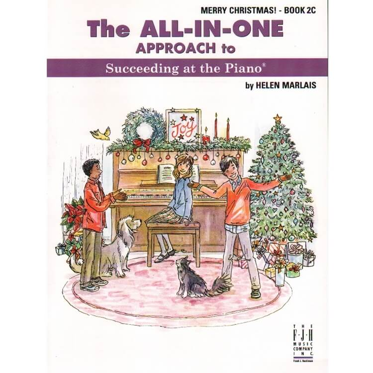 All-In-One Approach: Merry Christmas, Book 2C
