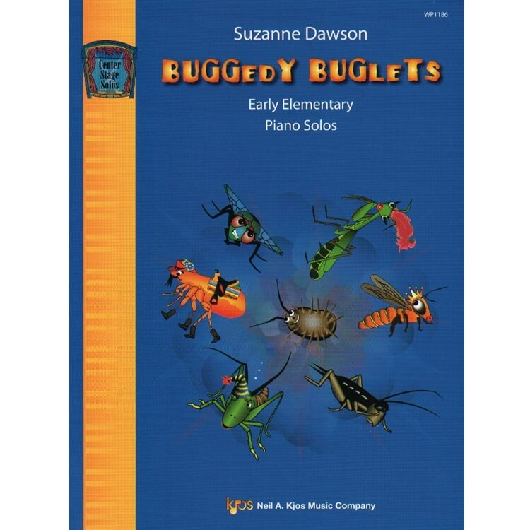 Buggedy Buglets - Piano Teaching Pieces