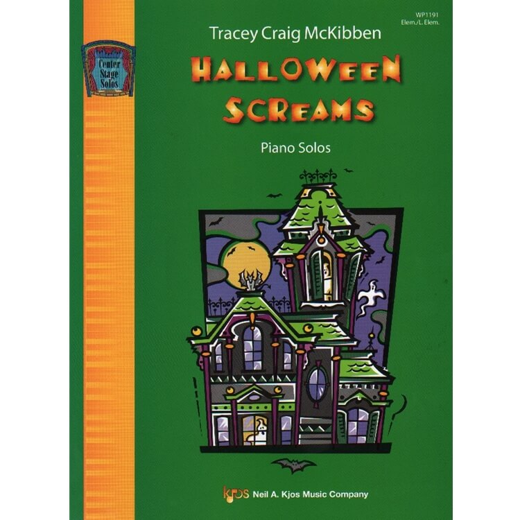 Halloween Screams - Halloween Piano Teaching Pieces
