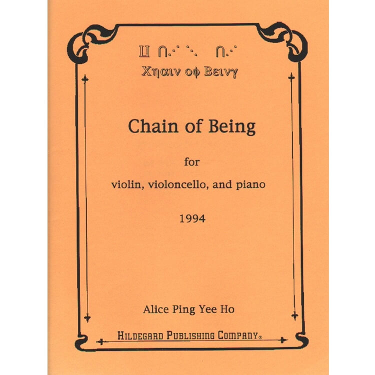 Chain of Being - Piano Trio