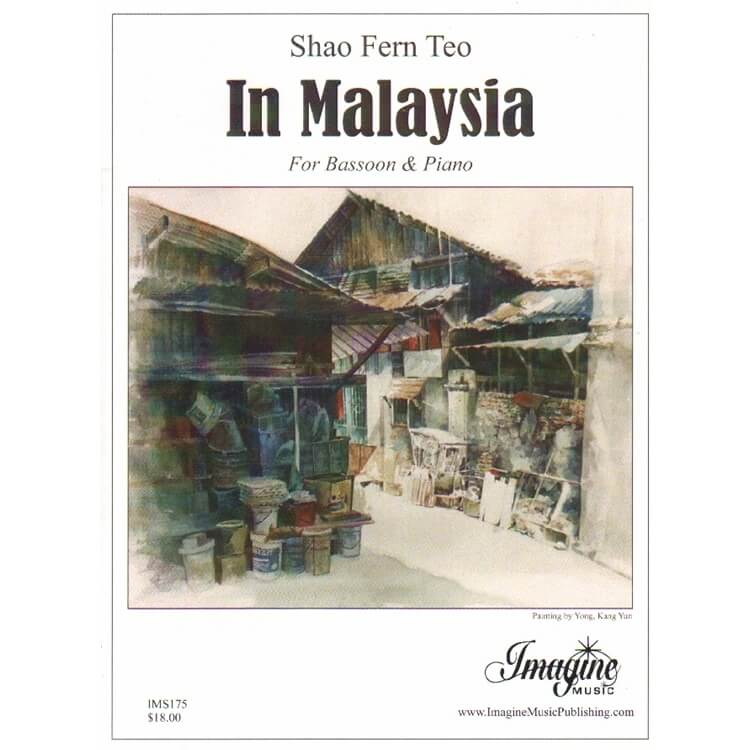 In Malaysia - Bassoon and Piano