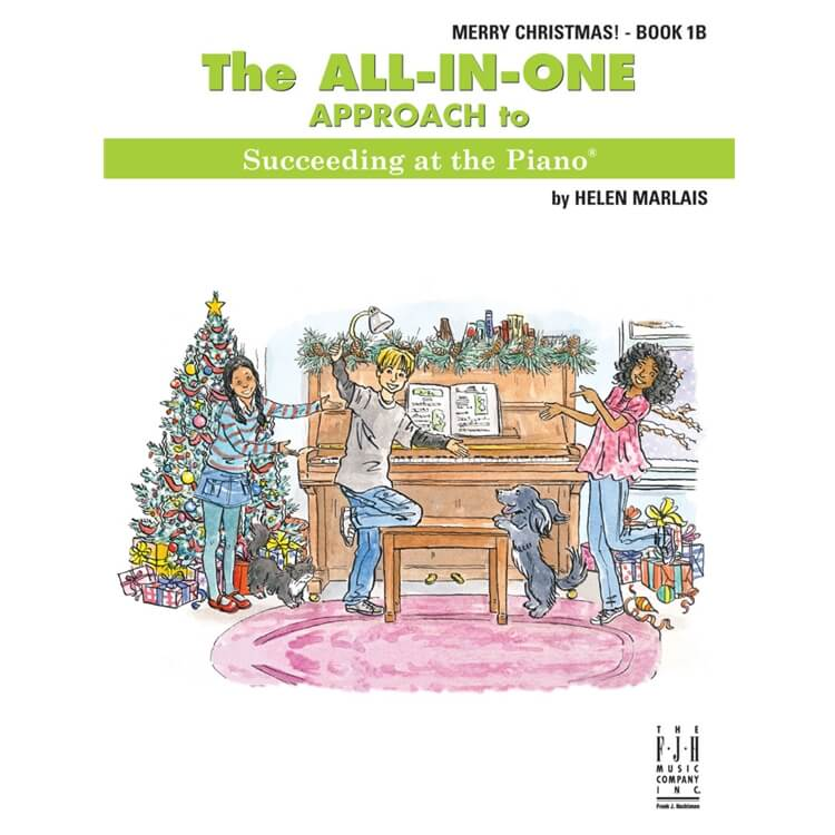 All-In-One Approach: Merry Christmas, Book 1B