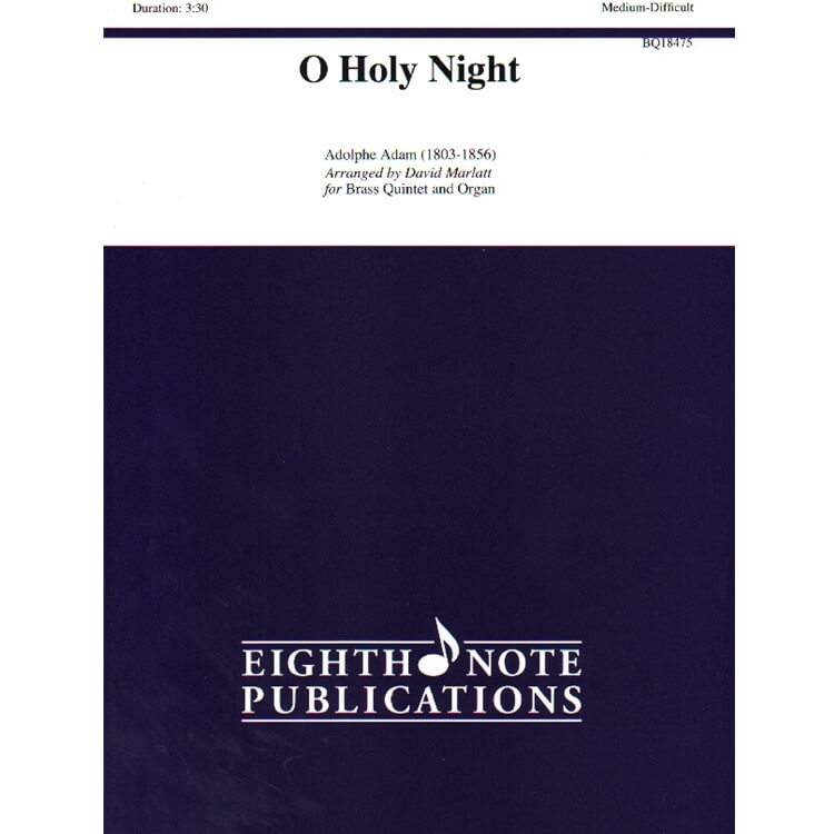 O Holy Night - Brass Quintet and Organ