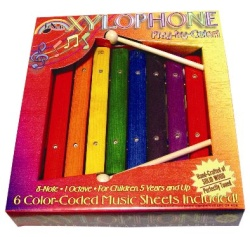 First Note 8 Note Wooden Children's Xylophone