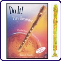 Gold Candy Apple Recorder & Do It Recorder Book/CD
