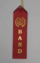 Band Ribbon Red - 10 Pack