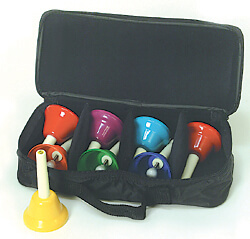 Case for 8 Note KidsPlay Combined Bell Sets