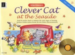 Clever Cat at the Seaside: Pupil and Teacher Duets - 1 Piano 4 Hands