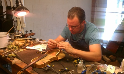 Brad Schaefer String Repair Technician