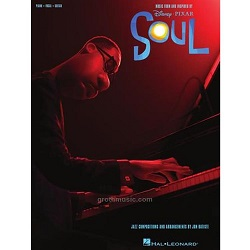 Pixar's Soul sheet music book