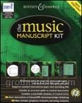 Music Manuscript Kit - CD-ROM