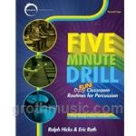 5 Minute Drill (Book/CD) - Percussion Method