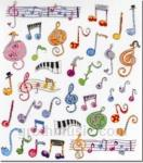 Whimsy Music Stickers