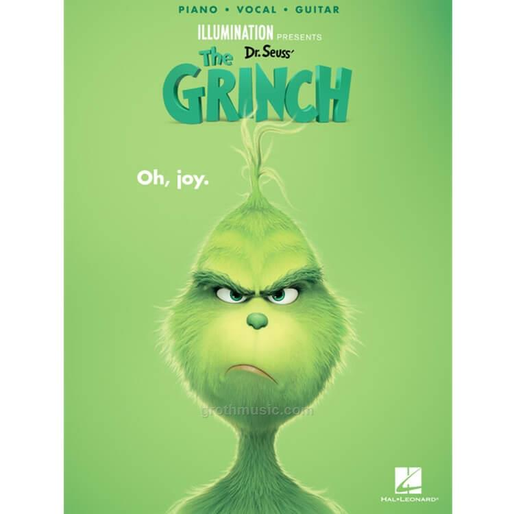 Groth Music Company Dr Seuss The Grinch 2018 Pvg Songbook